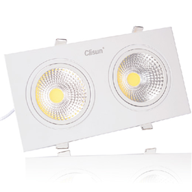 Đèn downlight đôi SPC model 2x3w